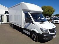Mercedes-Benz Sprinter 313 CDI LWB 3.5T LUTON DIESEL MANUAL WHITE (2014)