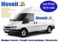 Man and van Manchester from £13.00 single item pickups/flat/house Removals