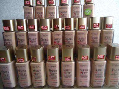 Loreal Visible Lift Line Minimizing   Tone Enhancing Makeup Normal To Oily Skin