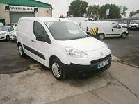 Peugeot Partner 850 S 1.6HDI 92ps Van DIESEL MANUAL WHITE (2013)