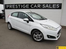 2015 Ford Fiesta 1.0 T EcoBoost Zetec (s/s) 5dr Petrol white Manual