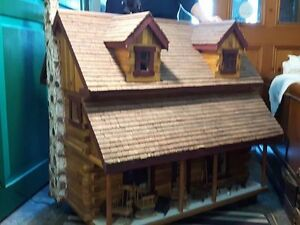 Vintage Doll House with 100's of peices