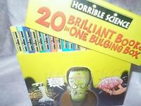 Horrible science book set