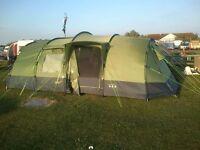 Gelert horizon 8 tent & camping gear