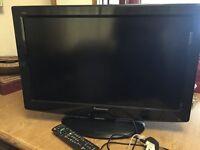 "Panasonic Viera 26"" TV with Stand & remote control"
