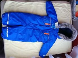 NEXT Brand New Pramsuit size 1.5-2yo