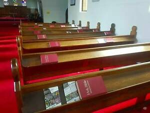 Church Pews. $300 each. Carlton Kogarah Area Preview