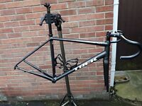 Trek Emonda ALR 56cm Road Bike Frameset w/ Handlebars, stem and Carbon Seatpost.