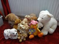 Job lot of lovely soft toys