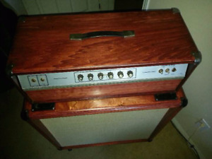 Amps, cabs, effects for sale or trade.