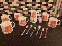Aston Pottery tea set (fine English pottery
