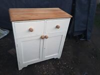 Oldie Worley Pine cupboard Unit Ideal Up cycling Project