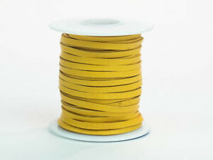 "Deerskin Lacing, 1/8"" x 50 ft Spools in Various Colors"
