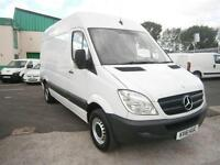 Mercedes-Benz Sprinter 313cdi mwb High Roof 130ps DIESEL MANUAL WHITE (2011)