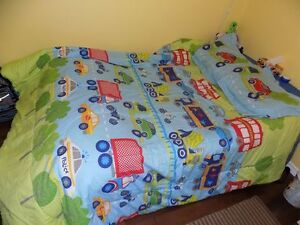 Kids bedding and decor