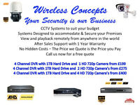 GREAT DEALS ON CCTV CAMERA'S INSTALLED