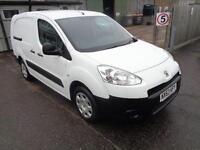 Peugeot Partner L2 716 S 1.6 HDI 90BHP CREW VAN DIESEL MANUAL WHITE (2013)