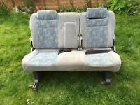 T4 3 person bench seat / rock n roll bed