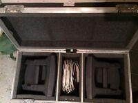 Portable twin speaker PA