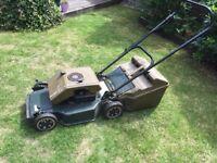 Lawn mower petrol push along