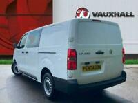 2020 Vauxhall Vivaro 2.0 Turbo D 3100 Edition Crew Van 5dr Diesel Manual L2 H1 E