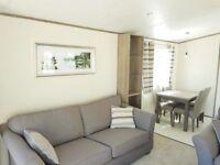 Stunning 3 bedroom double glazed static caravan, long owners season, few pitches left, Billing