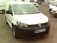 Volkswagen Caddy C20 TDI 102PS STARTLINE VAN DIESEL MANUAL WHITE (2013)
