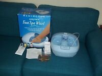 Remington Aroma FOOT SPA Whirl with 4 Aromatherapy treatments