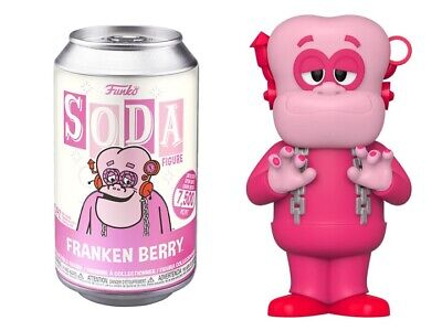 Funko Vinyl Soda: Ad Icons - Frankenberry Factory Sealed In Stock