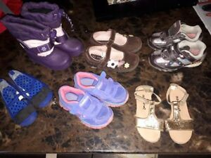 Girls shoes(*sketchers/brown shoes SOLD*)