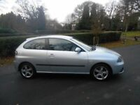 2006 Seat Ibiza 1.4 Automatic 3Doors With 12 Month MOT PX Welcome