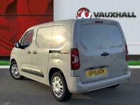 2019 Vauxhall Combo 2000 1.6 Turbo D 100ps L1 H1 Sportive PANEL VAN DIESEL Manua
