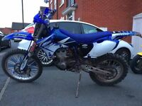 YAMAHA wr426f like YZF426 SWAP FOR TOOLS AND BOX