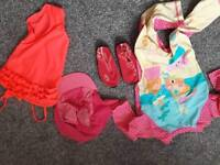 Girls swimwear size 2-3yr