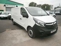 Vauxhall Vivaro 2900 1.6cdti L2 H1 115ps LWB DIESEL MANUAL WHITE (2015)