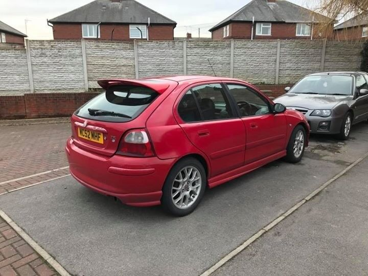 Rover MG ZR Breaking for parts