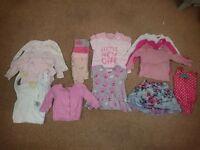 9 - 12 month girls clothes bundle - excellent condition
