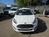 Ford Fiesta 1.5 Base Tdci Van DIESEL MANUAL WHITE (2013)