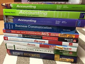 SHERIDAN BUSINESS/SOCIOLOGY TEXTBOOKS