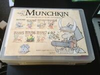 Munchkin Card Games and Expansions