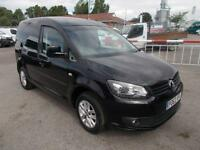 Volkswagen Caddy 1.6 Tdi 75Ps Highline Van DIESEL MANUAL BLACK (2013)