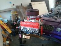 fully built small block chevy all new