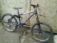Kona stab downhill bike