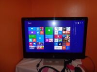 HP 27 All in One Touch Screen PC