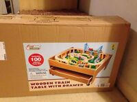 Child's train table brand new in the box