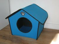 Indoor dog kennel pet play house