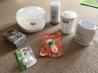 Bundle of Tommee Tippee Closer To Nature Warmers, Steriliser, Powder Dispenser And Extras