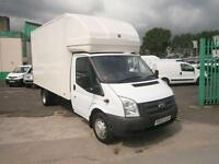 Ford Transit T280 13ft Luton 125ps Tail Lift DIESEL MANUAL WHITE (2012)