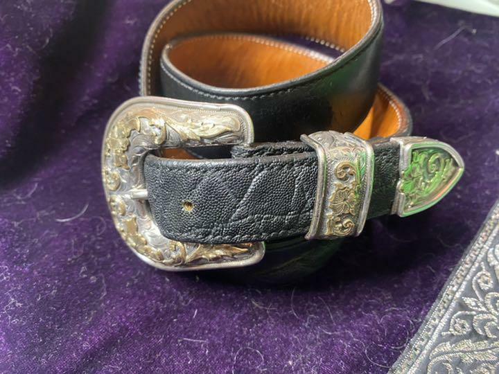 funny VOGT three-piece belt set Used