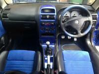 Vauxal astra G mk4 centre console in europa blue